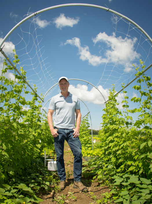 URI, university of rhode island, john taylor, agronomy, agronomy fields, polyculture, polyculture experiment, immigrant farmers, culturally appropriate foods, growing methods, ethnic growing methods, urban agriculture
