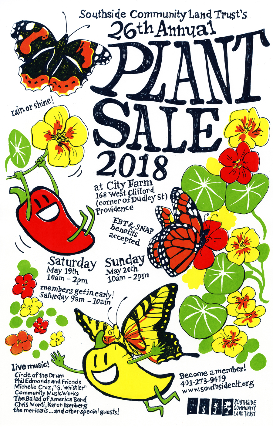 rare and unusual plant sale, city farm, organic gardening, providence city farm