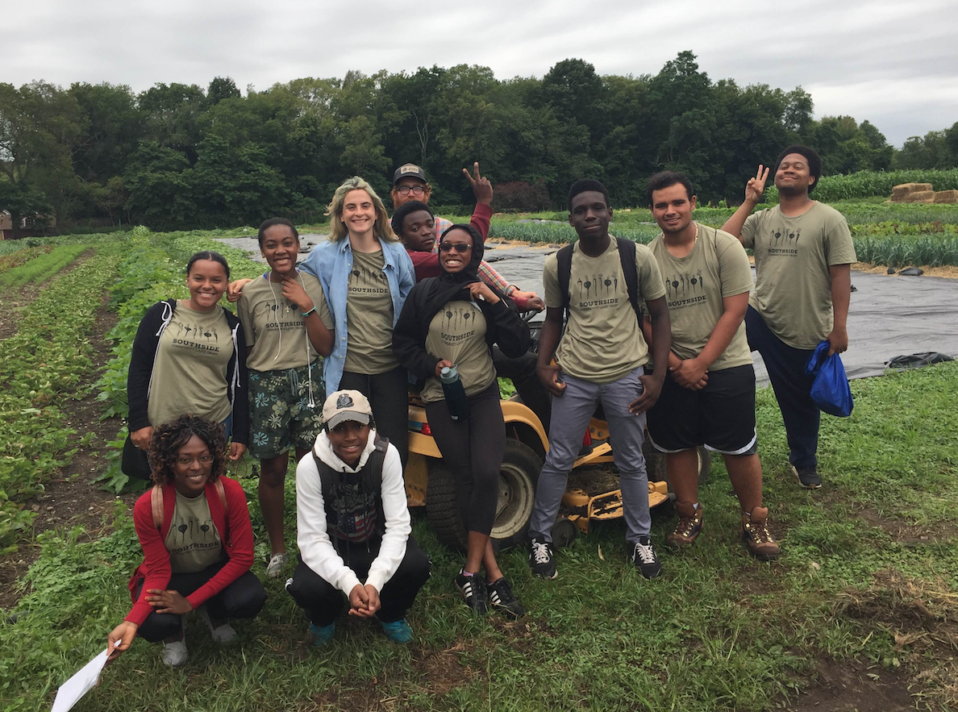 sclt youth staff, southside community land trust