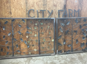 City Farm gate, Providence