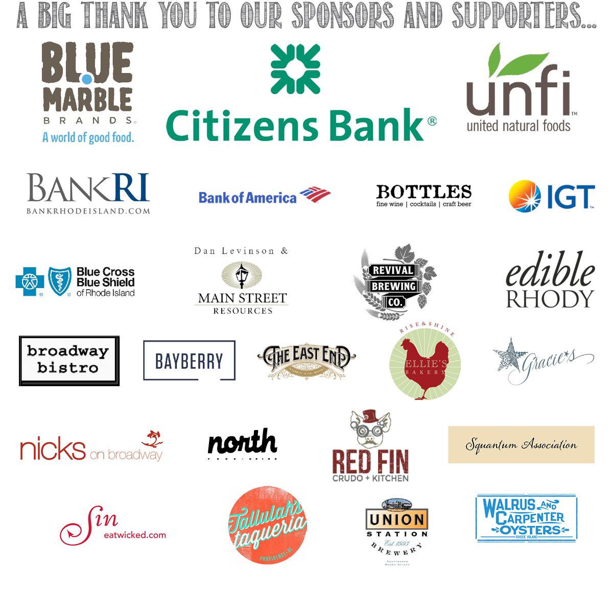 Harvesting Hope sponsors, SCLT, Squantum