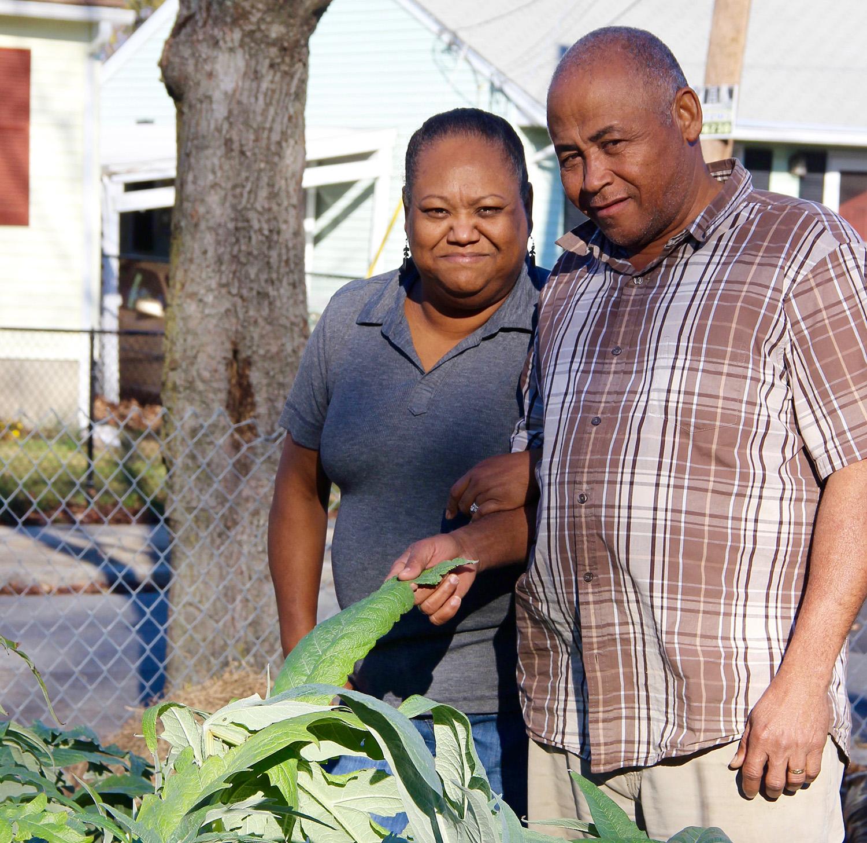 farmers Teo and Margarita