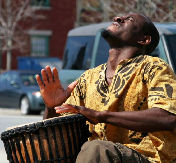 sidy maïga, master drummer, bamako, mali, sankofa world market, culturally appropriate foods, immigrant farmers, cultural traditions, urban agriculture