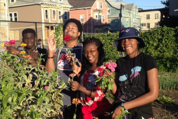 South Providence, SCLT youth staff, urban agriculture, SCLT, somerset hayward