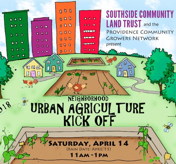 urban agriculture kick-off, providence, urban farming, organic gardening, community gardens