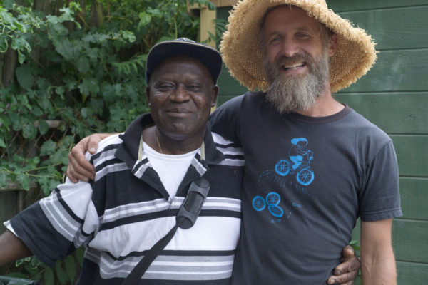 Jerome Charleus, community garden, SCLT, Providence