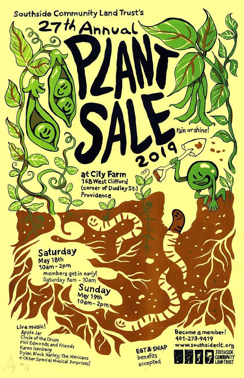 SCLT, City Farm, Rare & Unusual Plant Sale