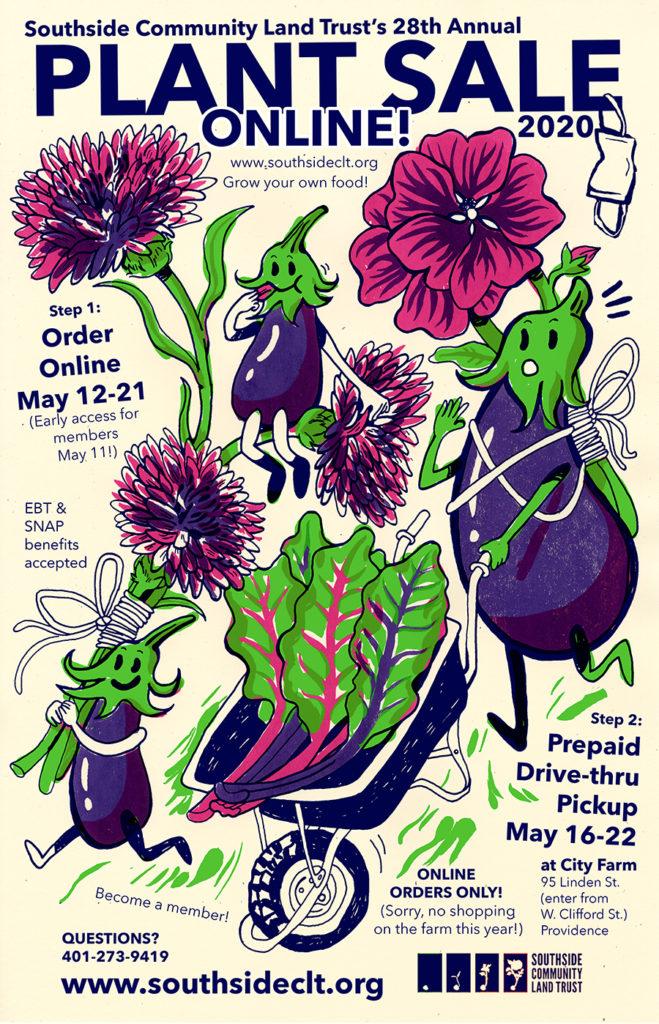 2020 SCLT plant sale poster