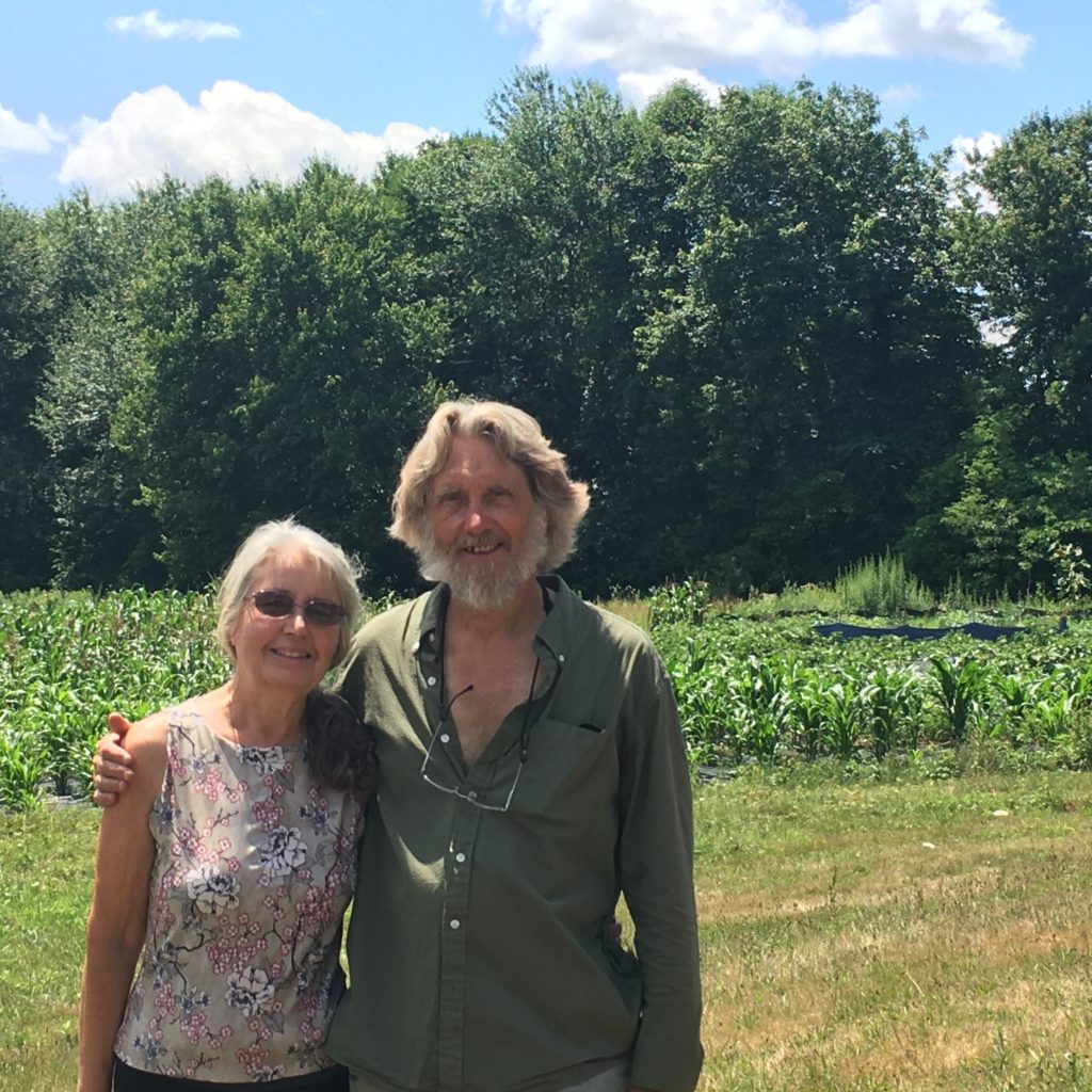 The Good Earth Farm owners Joyce and John Holscher have run the business in Cranston since 2001.