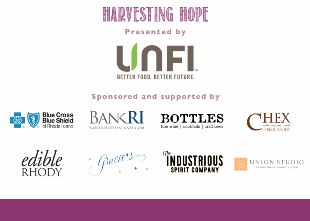 Harvesting Hope logo block