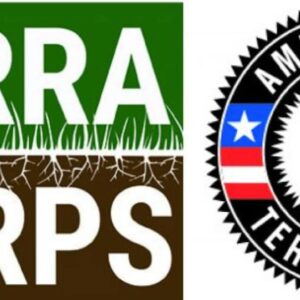 TerraCorps AmeriCorps logos